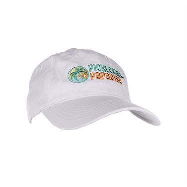 Pickleball Paradise Hat - White