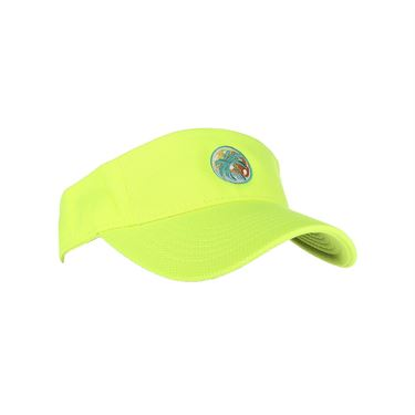 Pickleball Paradise Visor - Neon Yellow