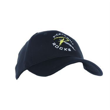 Pickleball Rocks Dri Fit Hat - Black