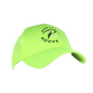 Pickleball Rocks Dri Fit Hat - Neon Yellow