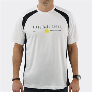 Pickleball Rocks Tournament Players Favorite Crew - White/Black
