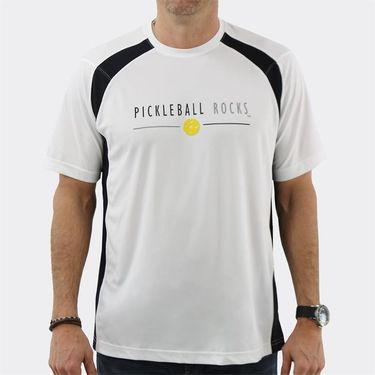 Pickleball Rocks Tournament Players Favorite Crew - White/Black
