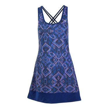 Eleven Primitive Dots Ribbon Dress - Print