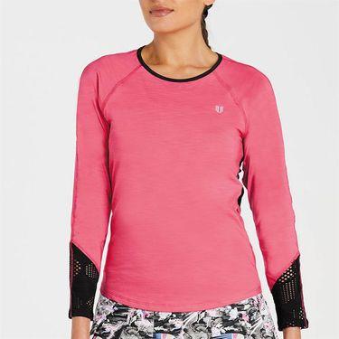 Eleven Phoenix Sunny Back Tee Shirt Womens Raspberry PH4905 665