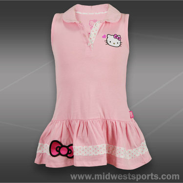 Hello Kitty Sleeveless Polo Dress