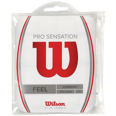Wilson Pro Overgrip Sensation COLORS (12 pack)