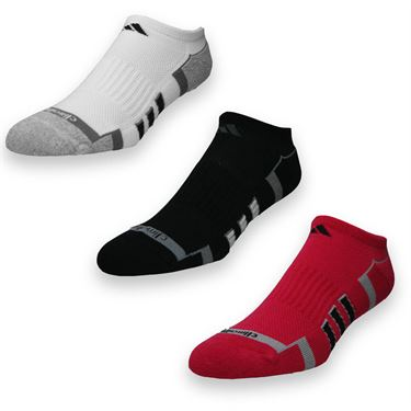 adidas ClimaLite II No Show Sock  (2 pack)