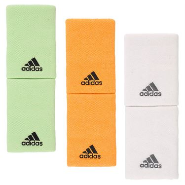 adidas Large Doublewide Wristbands