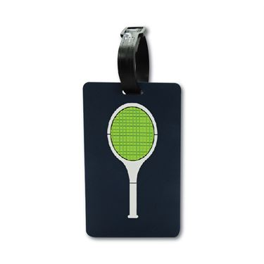 Racquet Inc Bag Tags - Tennis Racquet Blue/Green