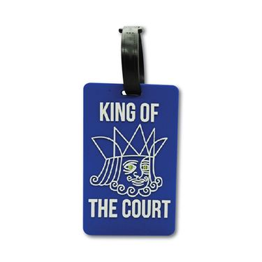 Racquet Inc Bag Tags King of Court - Blue/White