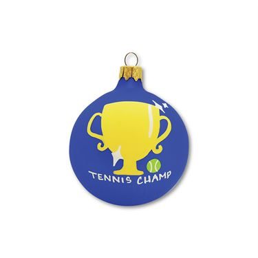 Racquet Inc Holiday Ornament - Tennis Champ Blue