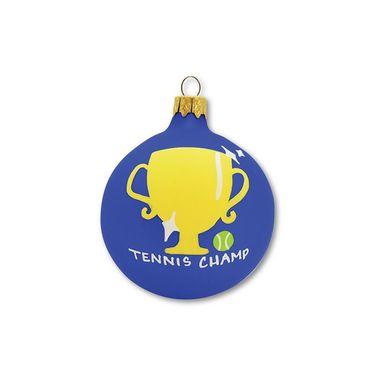 Racquet Inc Holiday Ornament - Tennis Champ Blue
