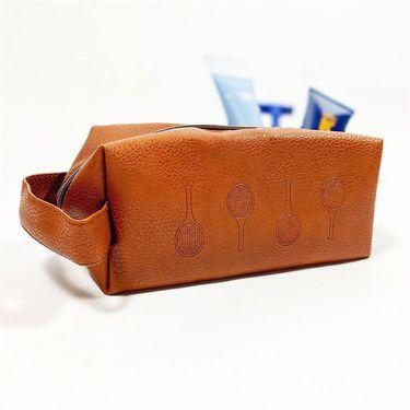 Racquet Inc Toiletry Bag - Brown