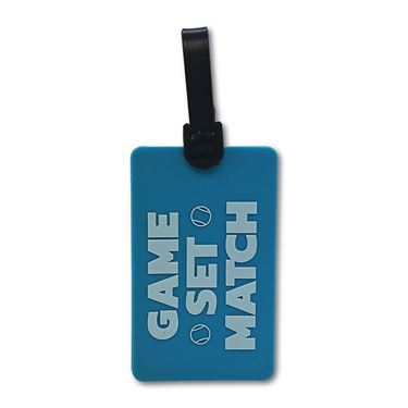 Racquet Inc Bag Tags Game Match - Blue