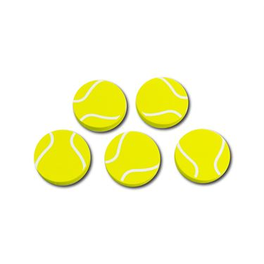 Racquet Inc Tennis Ball Erasers - Yellow