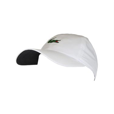 Lacoste On Court Poly Hat - White/Black