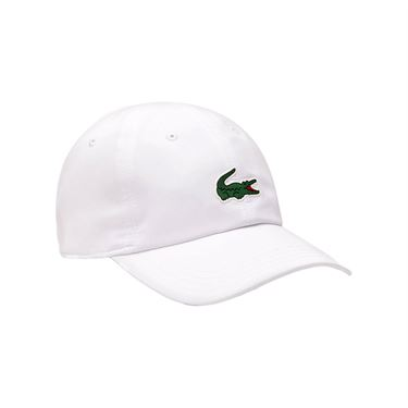 Lacoste Novak On Court Poly Hat - White