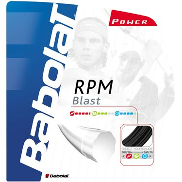 Babolat RPM Blast 16G - The choice of Nadal and Roddick!