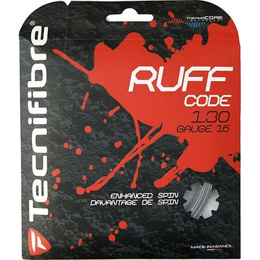 Tecnifibre Ruff Code 1.30 16G Tennis String