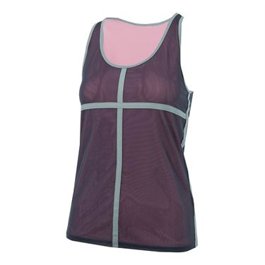 Inphorm Ashley Tank - Haze/Heather Grey/Pink