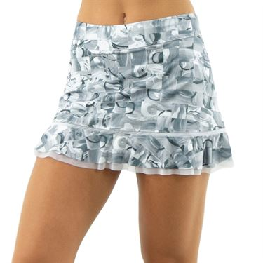 Inphorm Graphite Bridget Skirt Womens Graphite/White S18024 0154