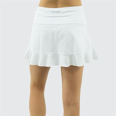 Inphorm Summer Capsule Jacqueline 13.5 inch Skirt - White