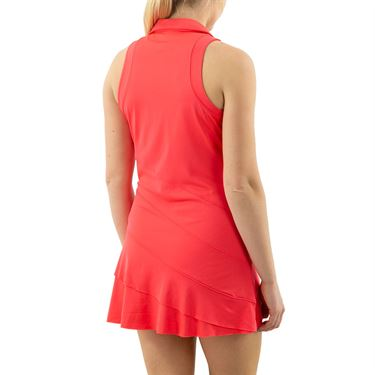 Inphorm Vibrant Mod Angelika Dress Womens Vibrant Red S21036 0209û