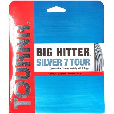 Tourna Big Hitter Silver 7 Tour 16G Tennis String