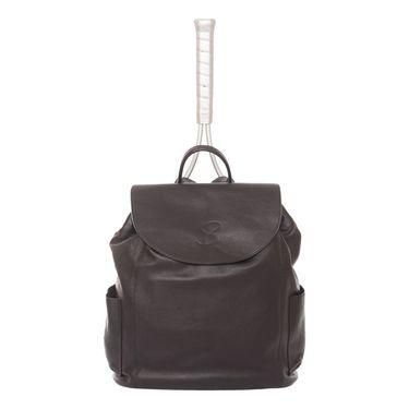 Sofibella Leather Backpack- Black