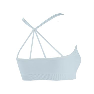 Lucky in Love Criss Cross Sports Bra - White