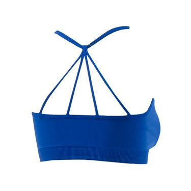 Lucky in Love Criss Cross Sports Bra - Electric Blue