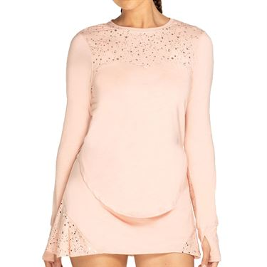 Eleven Shine Gravity Long Sleeve Sunshirt Womens Blush SH1556 645