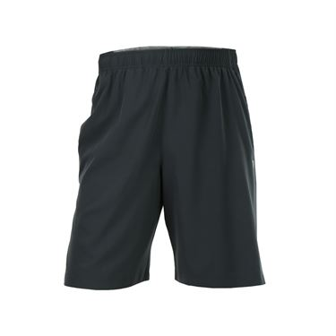 Prince Stretch Woven Short - Dark Grey/Heather Grey