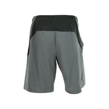 Prince Stretch Woven Short - Smoke/Charcoal Heather