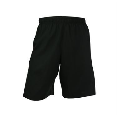 Prince Stretch Woven Short - Black/Dark Grey