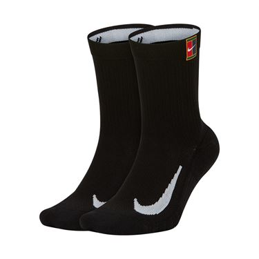 Nike Court Multiplier Cushioned Crew Sock - Black