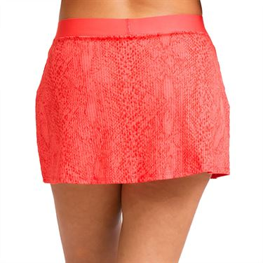 Eleven In The Curves Cant Stop Wont Stop 13 inch Skirt Womens Coral SK133 830