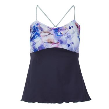 Denise Cronwall Mystical Spaghetti Strap Top - Violet