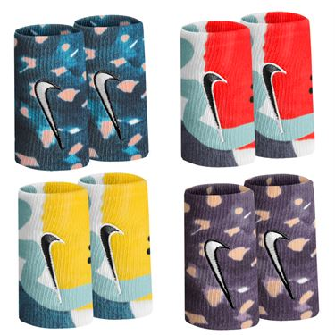 Nike Tennis Graphic Premier Doublewide Wristbands - Spring 20