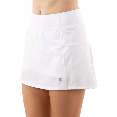 Lija Basic Deuce Skirt Womens White SS 4475WW