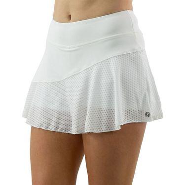 Lija Basic Multi Panel Skirt Womens White SS 4570WW