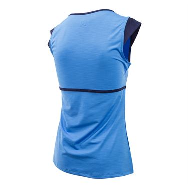 Eleven Starlet Volley Cap Sleeve Top - Marine