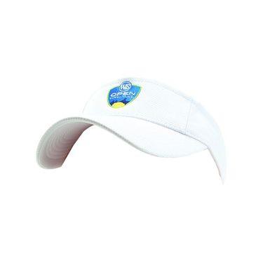 W&S Open Mesh Visor - White