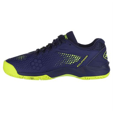 Yonex Power Cushion Eclipsion 2 Mens Tennis Shoe - Navy/Yellow
