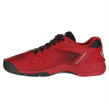 Yonex Power Cushion Eclipsion 2 Mens Tennis Shoe - Red/Black