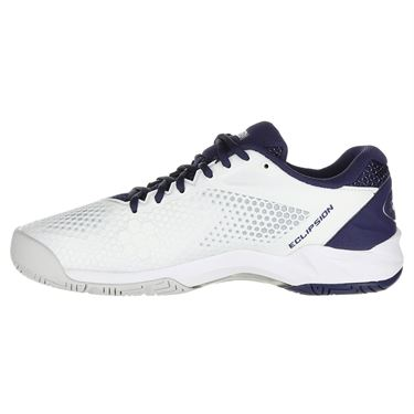 Yonex Power Cushion Eclipsion 2 Mens Tennis Shoe - White/Navy