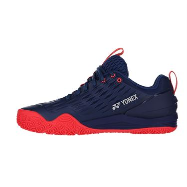 Yonex Eclipsion 3 CLAY Mens Tennis Shoe Navy/Red
