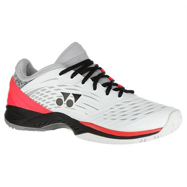 Yonex Power Cushion Fusion Rev 2 Mens Tennis Shoe - White/Black