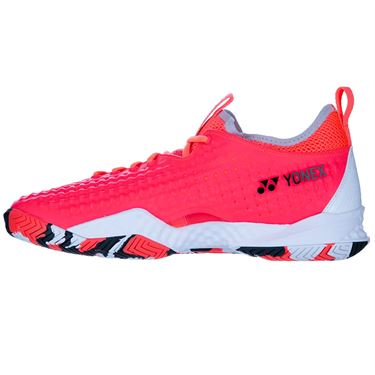 Yonex Fusion Rev 4 Mens Tennis Shoe Red/White STFR4RW