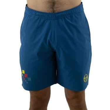Sergio Tacchini Check Short Mens Sun Yellow/Lyons Blue STMF2038780 271